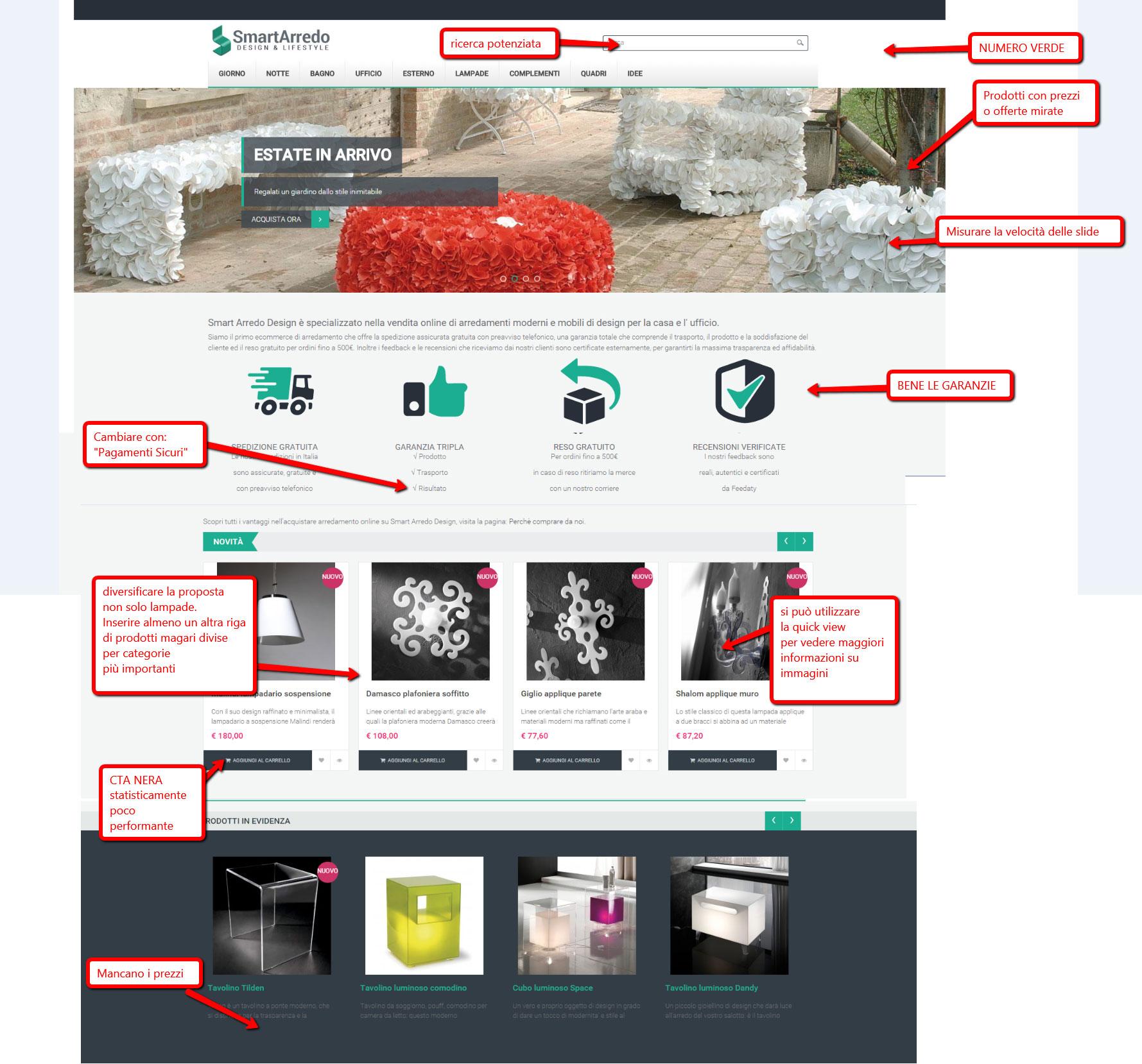 Recensione Smartarredodesign Com Ecommerce Arredamento E Complementi