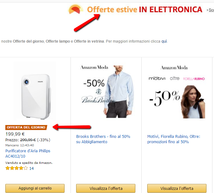 Marketing e Colori Amazon