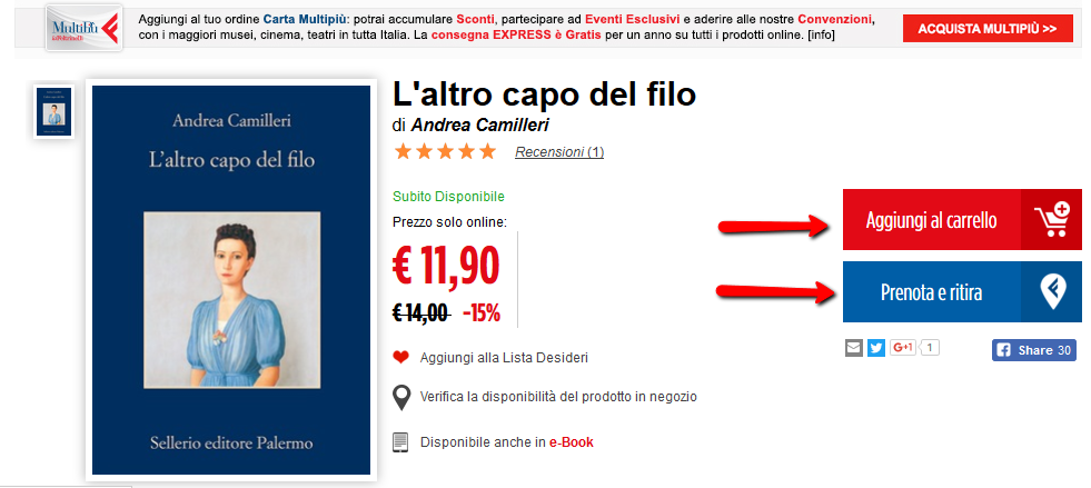 Marketing e Colori Feltrinelli