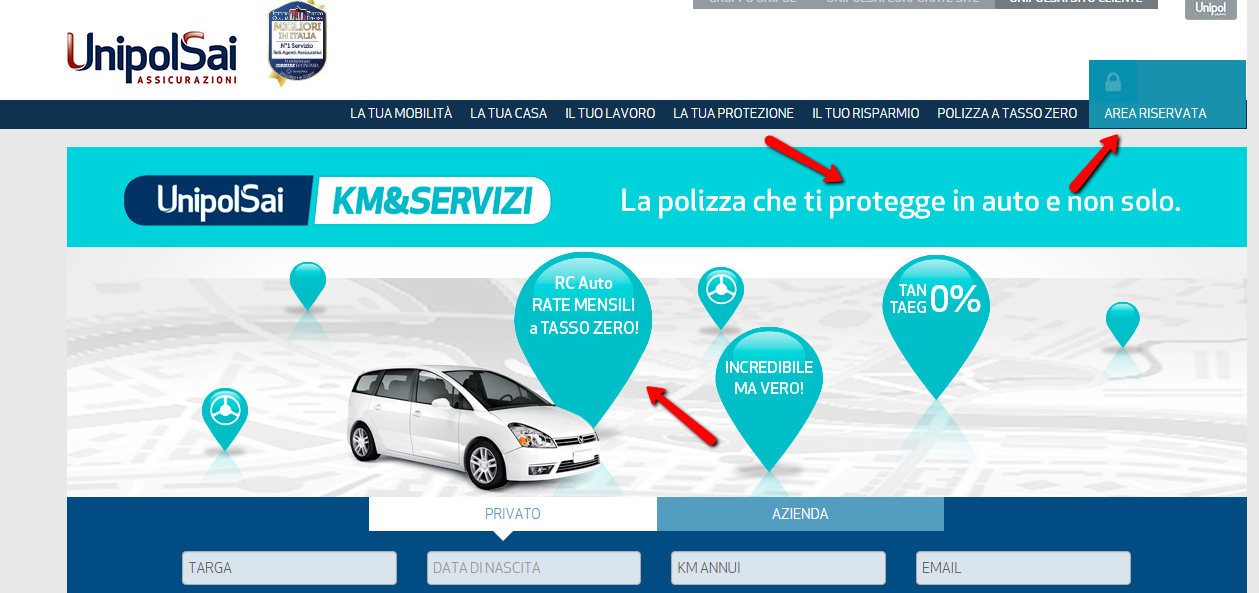 Marketing e Colori Unipol