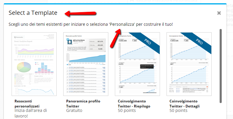 hootsuite social media management template data