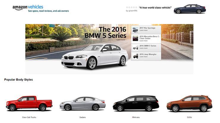 amazon vehicles Ecommerce News