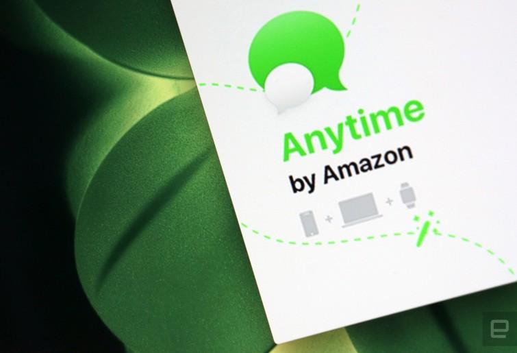 Anytime di Amazon