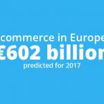 Ecommerce in Europa:  Fatturato di 602 miliardi di euro nel 2017