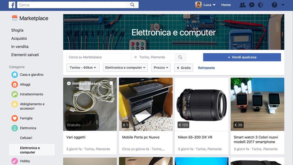 Arriva facebook marketplace in italia per la compravendita tra privati - Compravendita immobili tra privati ...