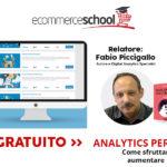 Corso Gratuito Analytics per Ecommerce: non solo Google – Fabio Piccigallo